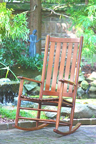 Dixie Seating Asheville Wood Rocking Chair No. 907SRTA Natural