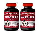 Workout Supplements for Men Muscle - Amino Acids 1000 mg - l-Arginine and l-Lysine - 2 Bottles 200 Capsules