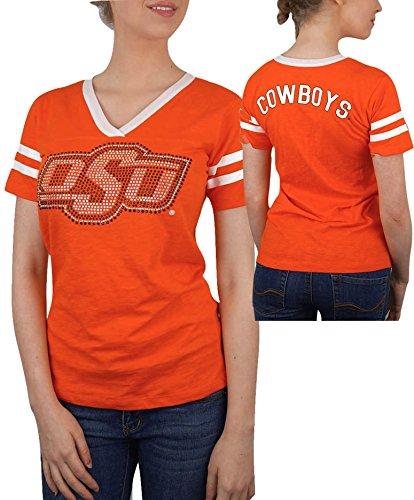 Oklahoma State Cowboys Womens Tshirt Orange   Xl