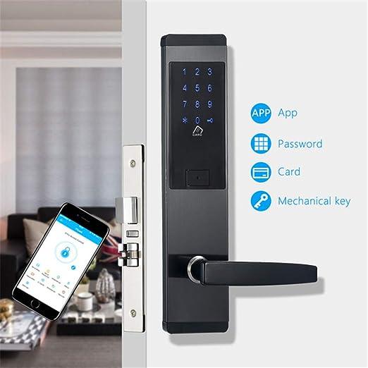 Cerradura electrónica Inteligente, WiFi Smart Touch Pantalla ...
