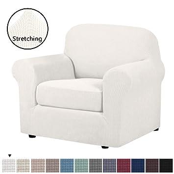 Amazon.com: H.VERSAILTEX - Funda para sofá de 2 piezas de ...