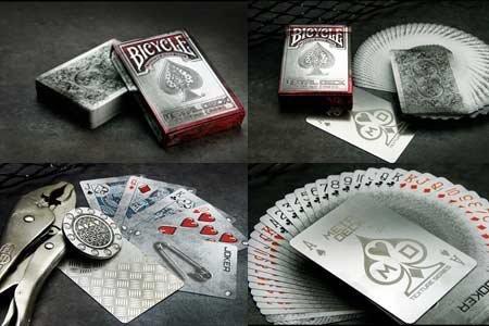 Amazon.com: Bicicleta Metal jugando a las cartas por juego ...