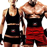 Best Belly Fat Burner For Men - Armageddon Sports Premium Waist Trimmer Belt, Sweat Belt Review