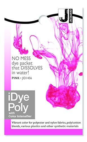 Jacquard IDYE-456 iDye Poly, 14 Grams, - Pink Fabric Dye