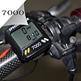 Meanhoo Digital Bike Cycle Computer for bicycle with Led LCD Backlight, speedometer odometer with Free Mount
