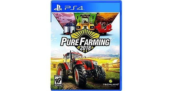 Amazon com: Pure Farming 2018 - PlayStation 4: Ui