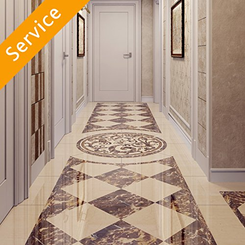 Stone Floor Restoration - 2 Rooms