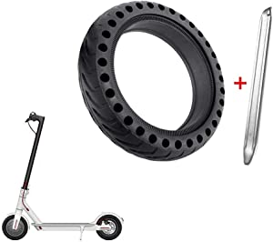 ASTVSHOP Solid Tire Wheel's Replacemen Accessories for Electric Scooter Xiaomi Mi m365 / gotrax gxl V2, 8.5 inches Scooter Explosion-Proof Solid Tire for Xiaomi Mijia M365