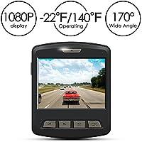 Dash Cam - ARTSEA 170° Wide Angle View 1920x1080P 2.0''...