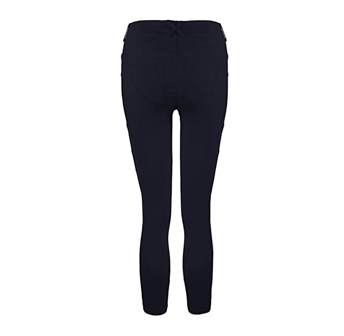 Tongshi Las mujeres de baja cintura cadera Push Up Leggings Jeggings gótico polainas (Azul, S): Amazon.es: Deportes y aire libre
