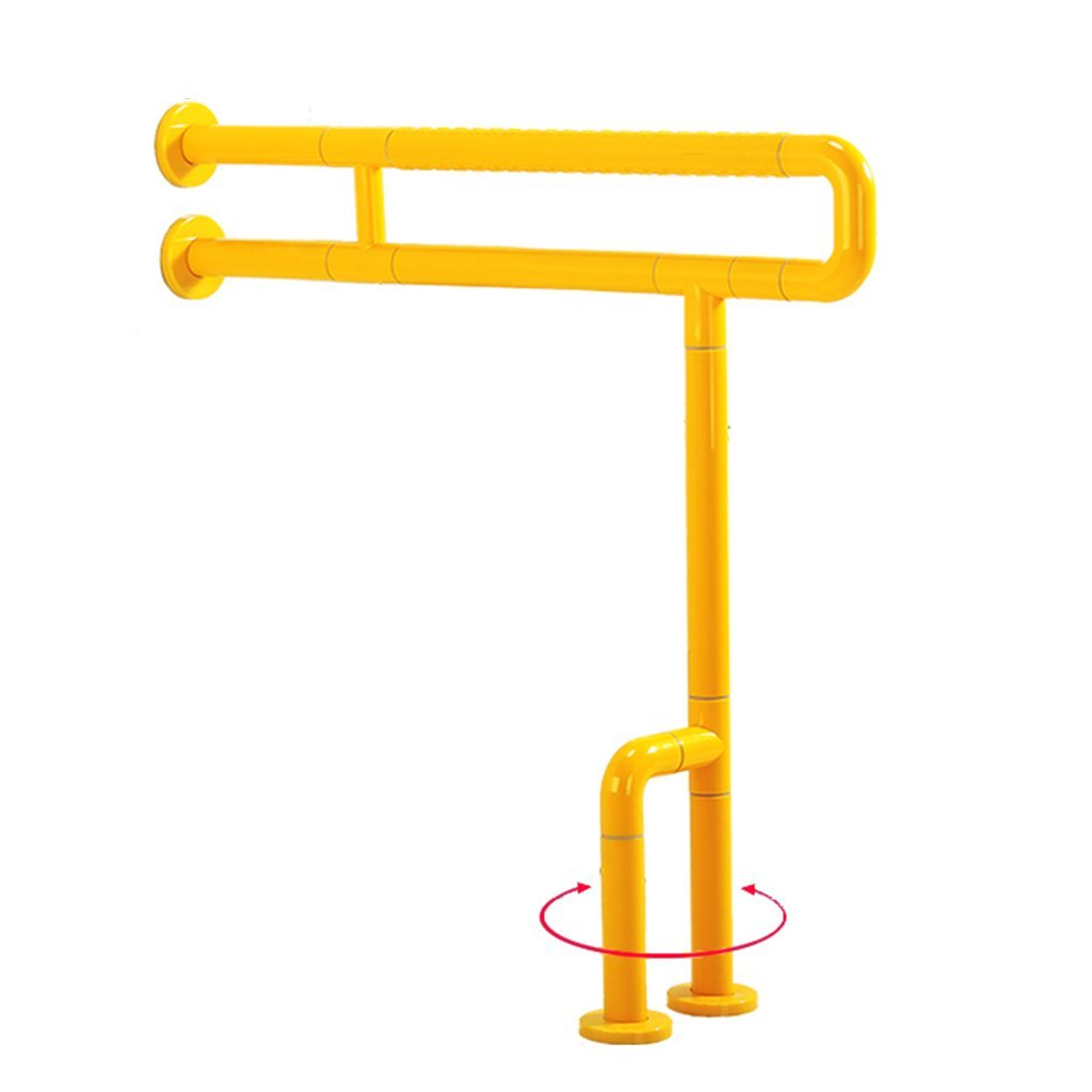 専門ショップ バスルーム手すりバリアフリー手すりの廊下のバスルームの滑り止めハンドルステンレスバスタブ手すりの床のレール (Color : Size Yellow, Size : 60 60*70cm* 70cm) : 60*70cm Yellow B07G2FD929, アシキタグン:365c2fba --- ciadaterra.com