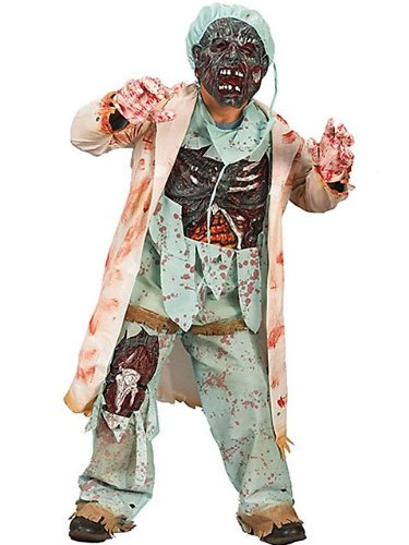 Fun World Zombie Doctor Costume for Children