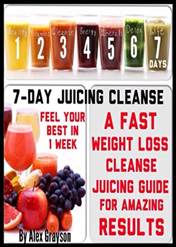 7 Day Juicing Cleanse A Fast Weight Loss Cleanse Juicing Guide For Amazing Results