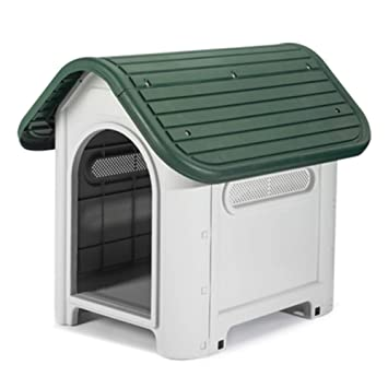 FERFERFERWON Casa de Mascotas casa de Perro pequeño Perro caseta ...