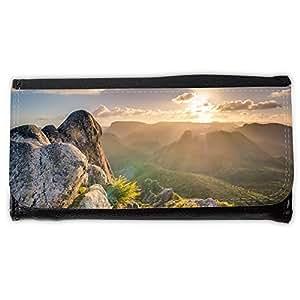 le portefeuille de grands luxe femmes avec beaucoup de compartiments // M00237057 Rocas de montañas Highlands Top // Large Size Wallet