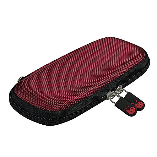Hermitshell Hard EVA Travel Burgundy Case Fits Surface Arc Mouse2017 Edition
