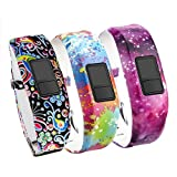 Band for Garmin Vivofit 3 Vivofit JR Vivofit JR. 2-Budesi Colorful Adjustable Replacement Wristband Strap Bands for Garmin Vivofit 3/Vivofit JR/JR. 2 Bracelet(for Kids, Wrist over 135cm at Least)