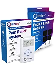 iReliev TOP-BEST TENS Massager Unit Bundle for Pain Relief! The iReliev Bundle IS 100% Guaranteed or Money Back.