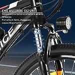 VIVI-Bicicletta-Elettrica-per-Adulti-Bici-Elettriche-da-26con-Motore-da-350W-Batteria-Rimovibile-da-36V8-AhCambio-a-21-Velocita-32KMHRicarica-Chilometraggio-Fino-a-25-Miglia-Rosso