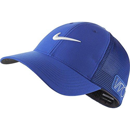 2015 NIKE Golf Tour Legacy VAPOR/RZN Mesh Fitted Cap COLOR: Lyon Blue SIZE: S/M