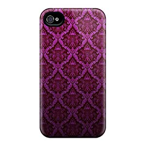Awesome Design Pink Wall Hard Case Cover For Iphone 4/4s