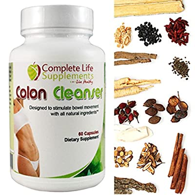 Colon Detox Gentle Cleanse for Weight Loss, Energy + Immunity Booster, Safe + Effective Herbal Blend Restores Digestive Health, Relieves Constipation + Bloating, 120 Capsules