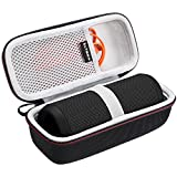 LTGEM Case for JBL Flip 3 or JBL Flip 4 Bluetooth Speaker. Fits USB Cable and accessories.