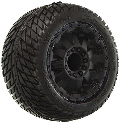(PROLINE 117214 Road Rage 2.8 Traxxas Style Mounted On F-11 Wheel, Black)