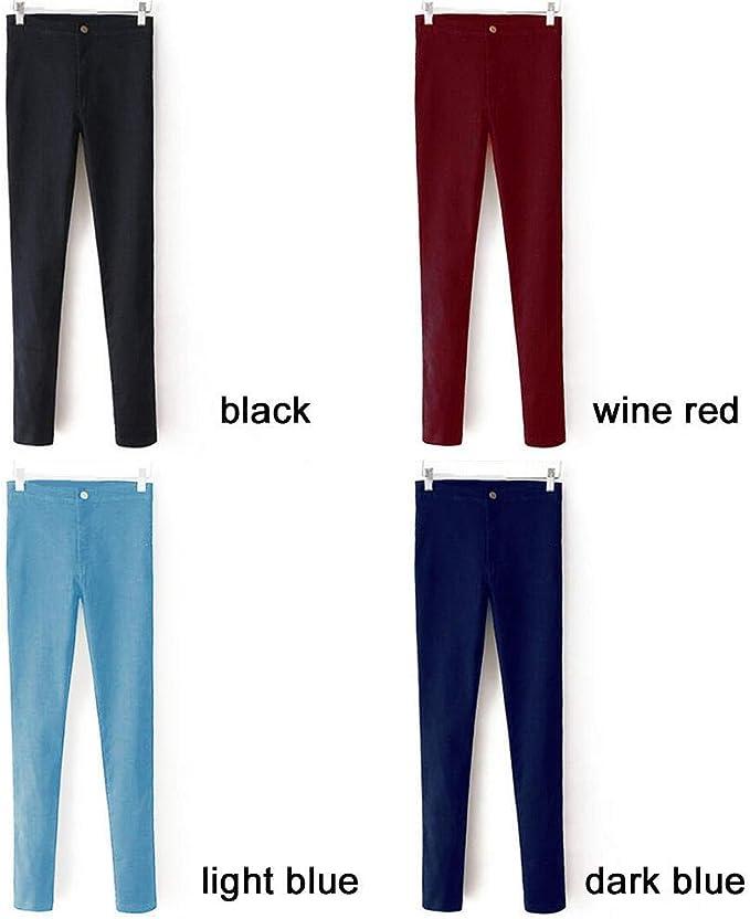 FAIYIWO Celebrity Women Stretch Skinny Jeans Pantalones Vaqueros Elastic Denim High Waist Hip-Lifting Pants FAIYIWO Navy Blue L Size