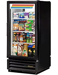 True GDM-10PT-LD Series Glass Pass Thru Door One Section Reach-In Merchandiser Refrigerator