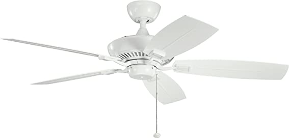 Kichler 310192WH Ceiling Fan with Light
