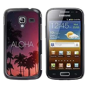 Dragon Case - FOR Samsung Galaxy Ace 2 - worth two tomorrows - Caja protectora de pl??stico duro de la cubierta Dise?¡Ào Slim Fit