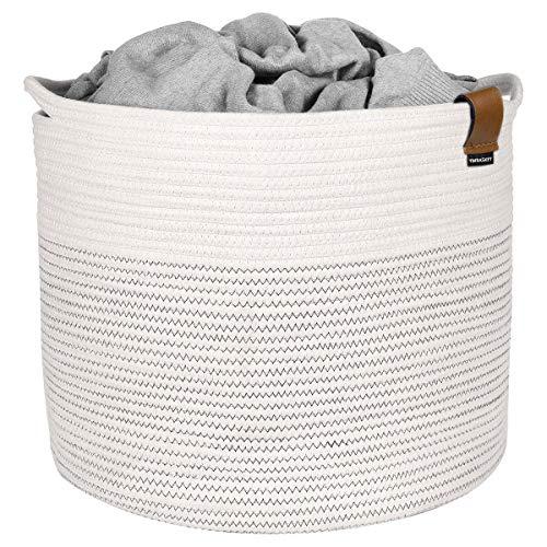 Storage Basket Extra Large Cotton Rope Woven 15