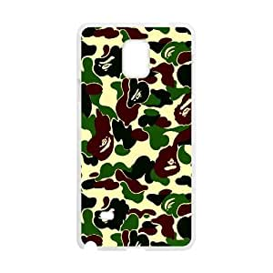 Samsung Galaxy Note 4 Cases Military Camouflage Patterns Design For Men, Samsung Galaxy Note4 Cases For Men Design For Men [White]