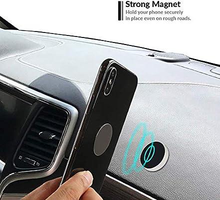 LG G7 G6 Nekteck Universal Stick on Flat Magnetic Car Mount Phone//Key Holder for iPhone X//8//7 6S// 6 6 Plus Echo Dot More Stick-mount3-2P-BLK 2Pack Pixel 3//2 XL Nexus 6P 5X Galaxy S9//S8 S6//S7 Note 9 8 5 SE