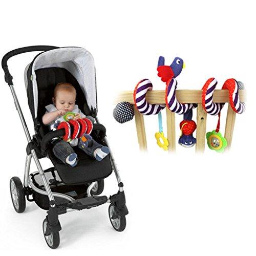 kid baby spiral cot activity hanging musical play toy for car seat pram stroller raptop. Black Bedroom Furniture Sets. Home Design Ideas