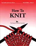 National Needlearts Books How to Knit, Paperback Book