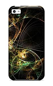New Diy Design Fractal Circles For Iphone 5c Cases Comfortable For Lovers And Friends For Christmas Gifts