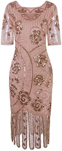 Vijiv Vintage Dresses Cocktail Flapper