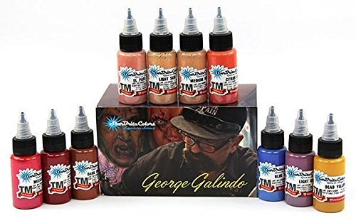 George Galindo Series Ink Set – StarBrite Colors Signature Series by Tommy's Supplies - 10 1oz Bottles