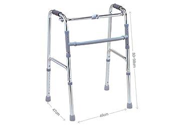 YAO Muletas de Aluminio sillón de Ruedas Mayor andadores Andador ...
