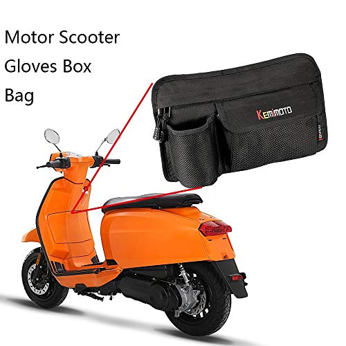 Victoria-ACX - Motorcycle Glove Bags Storage Bag for All Vespa Model GTS LX LXV Sprint Primavera 50 125 250 300 GTS 300ie S 50 Sprint 50