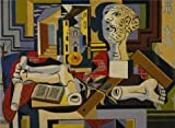 Oil Painting 'Pablo- Picasso,Studio With Plaster Head,1925' Printing On High Quality Polyster Canvas , 18x25 Inch / 46x63 Cm ,the Best Powder Room Decoration And Home Decoration And Gifts Is This Beautiful Art Decorative Prints On Canvas