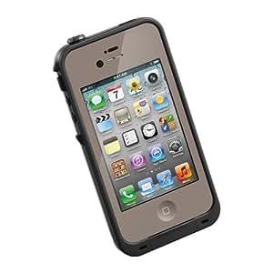 LifeProof FRE iPhone 4/4s Waterproof Case - Retail Packaging - FLAT EARTH/BLACK