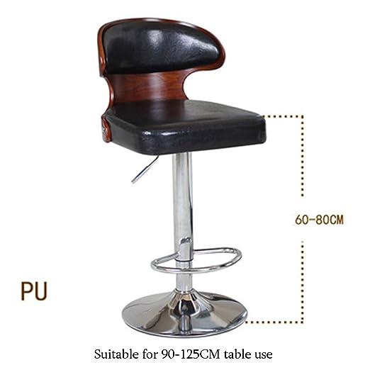 Fabulous Amazon Com B Ydcm Bar Stools Adjustable Swivel Gas Lift Creativecarmelina Interior Chair Design Creativecarmelinacom