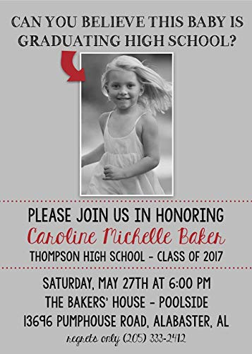 - Custom Graduation Invitations | Baby Photo