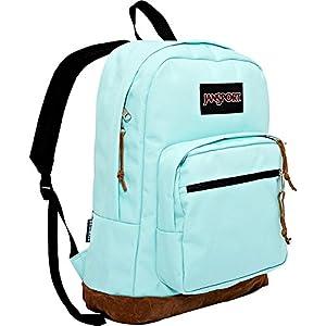 JanSport Right Pack Laptop Backpack- Sale Colors (Aqua Dash)