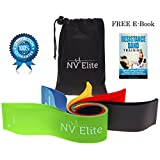 Resistance Loop Bands - Exercise Loop Bands for Working Out or Physical Therapy! Raise Your Beat With NV Elite - Designed in CANADA