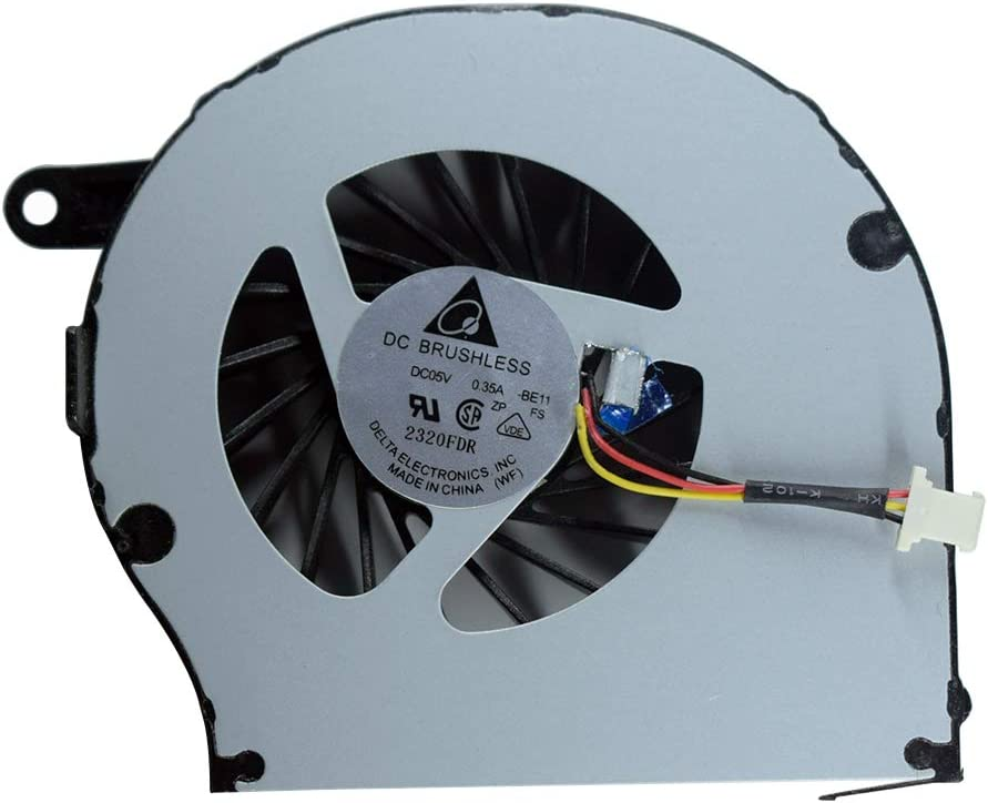 Replacement CPU Cooling Fan for HP Compaq CQ72 G72 G72-227WM G72-C55DX G72-B66US Series 606013-001 606014-001