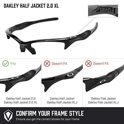 Half Jacket 2 0 >> Revant Replacement Lenses For Oakley Half Jacket 2 0 Xl Black Chrome